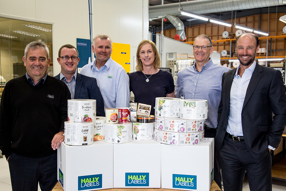 Hally Labels New Zealand Sales Team