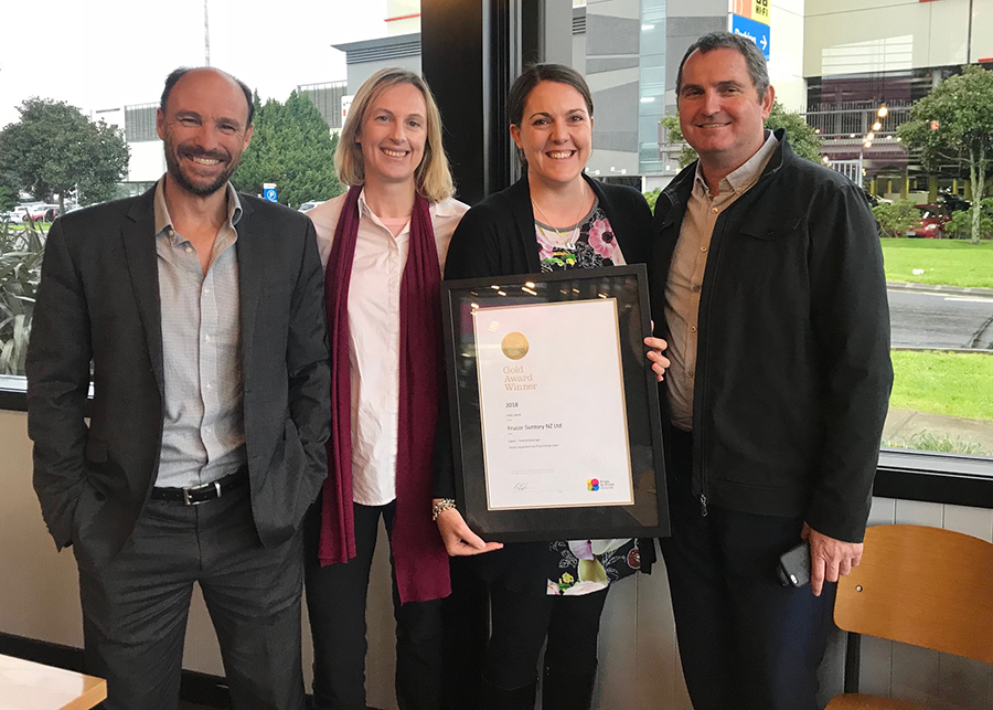 Hally Labels New Zealand Pride In Print Awards 2018