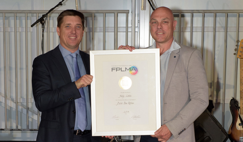 Hally Labels FPLMA Gold Print Award 2019