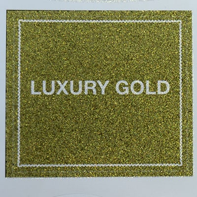 Luxury Gold Label Embellishment