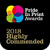 Hally Labels Pride In Print Awards 2018 Highly Commended